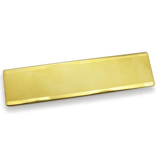 NorthPeak - Gold Name Badge(73X18mm