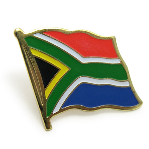 South Africa Flag Pins > Lapel Pins CN