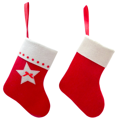 item d217062g productfelt christmas stocking small - Small Christmas Stockings